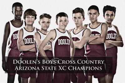 Doolen's Boy's Cross Country, Arizona State Champions